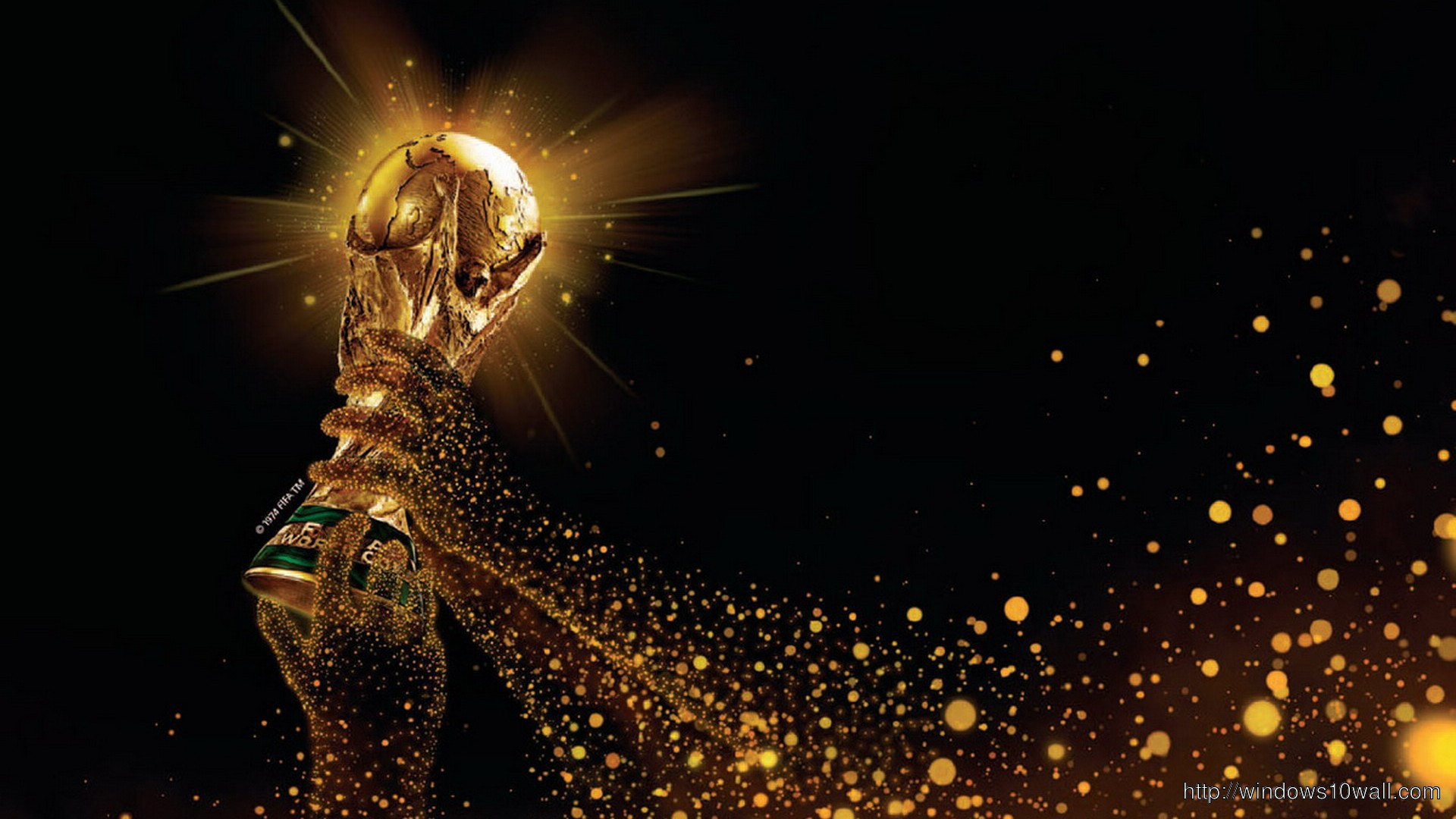 Fifa World Cup Trophy 2014 Background Wallpaper Windows