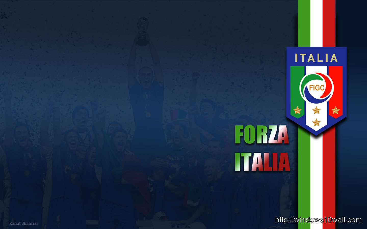 Forza Italia Background Wallpaper Windows 10 Wallpapers