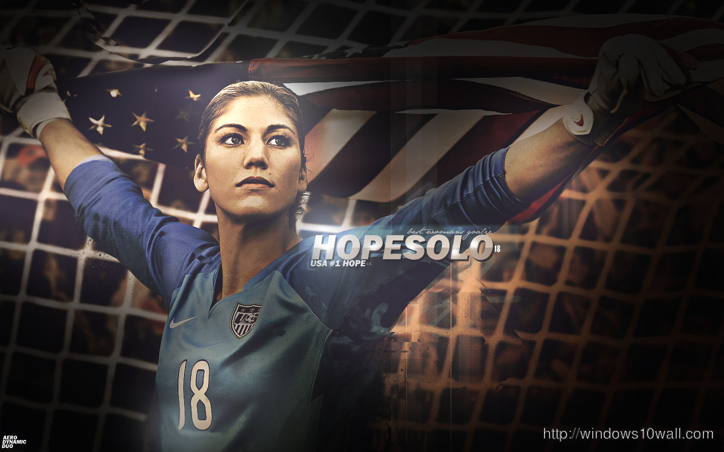 Hope Solo FIFA World Cup Wallpaper