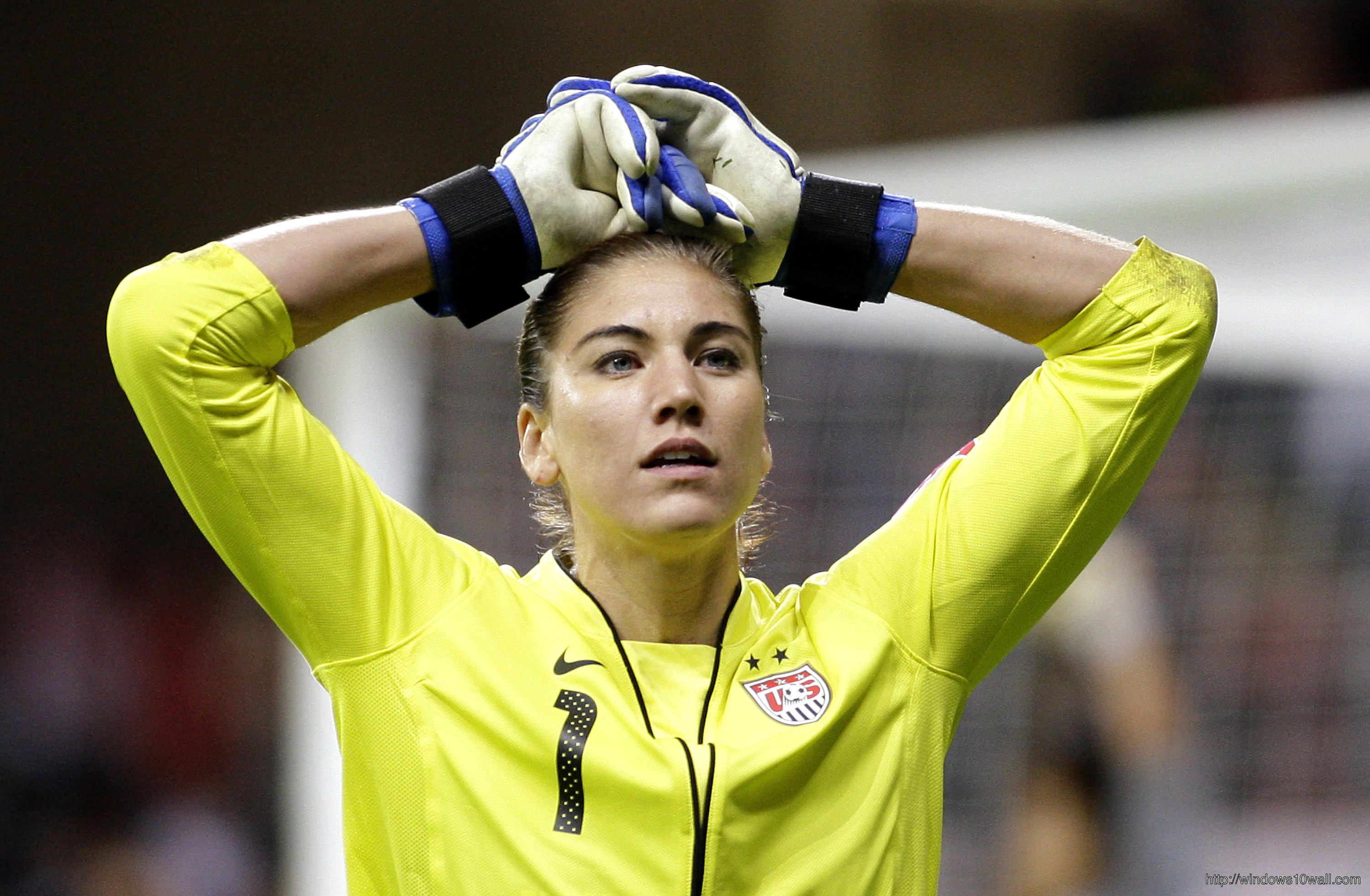 Hope Solo HD Background Wallpaper