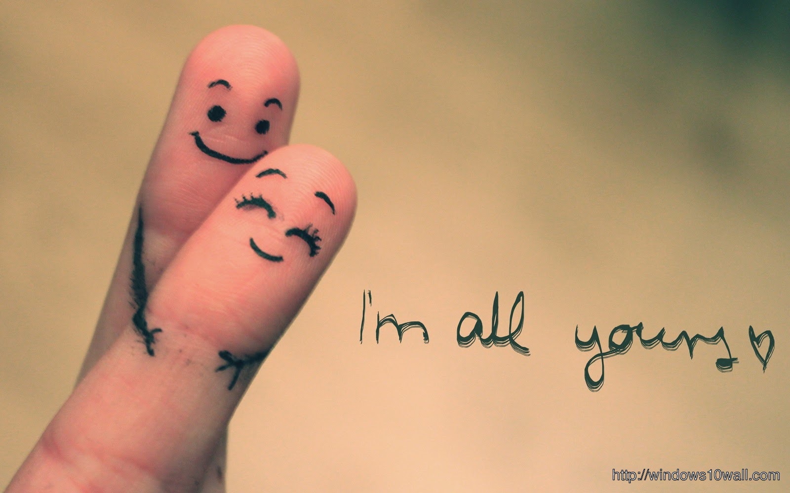 I m all yours love wallpaper