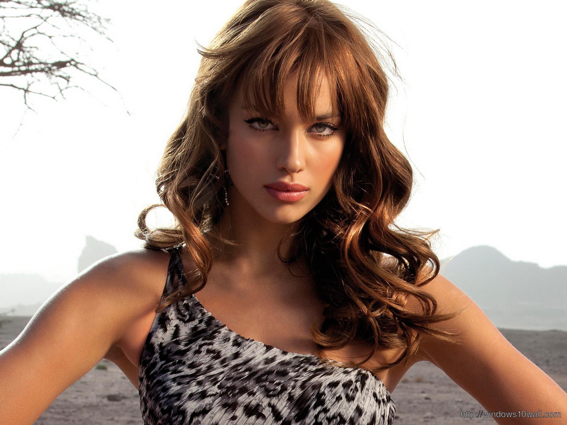 Irina Shayk model Background Wallpaper