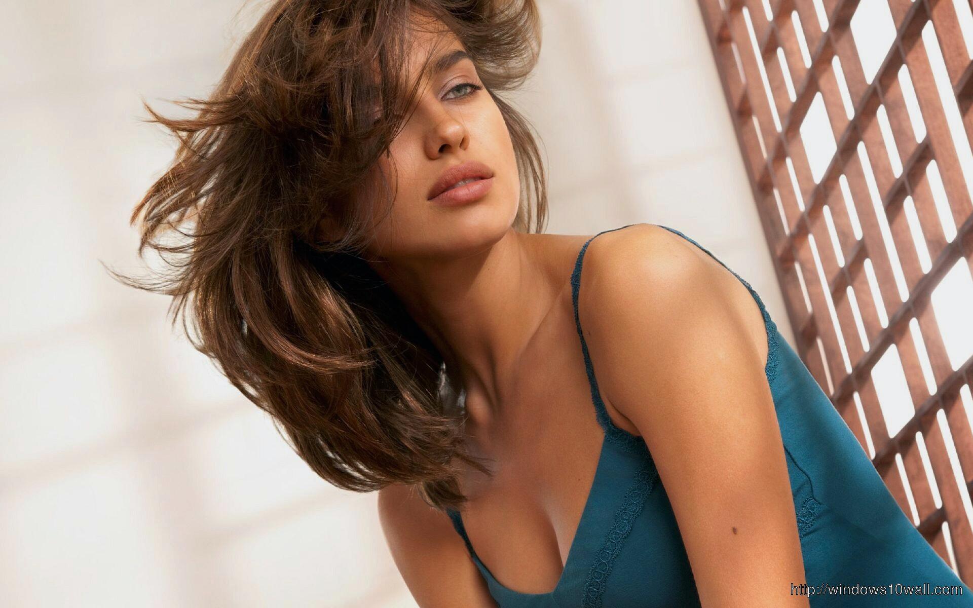 Irina Sheik Hair Style Wallpaper