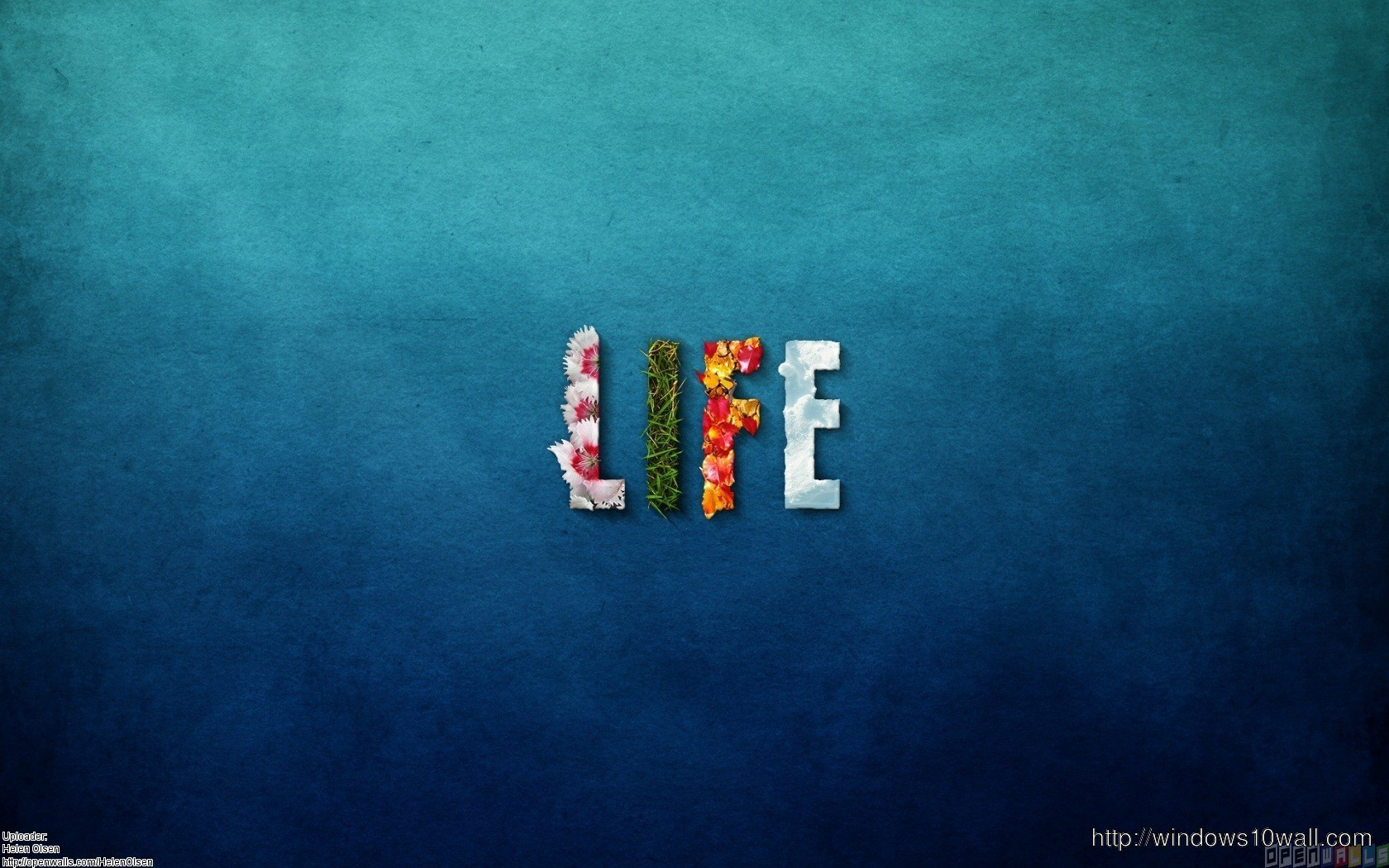 Live Life Be Beautiful Wallpaper