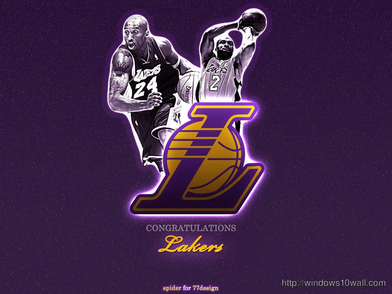 Los Angeles Lakers Hd Wallpaper Windows 10 Wallpapers
