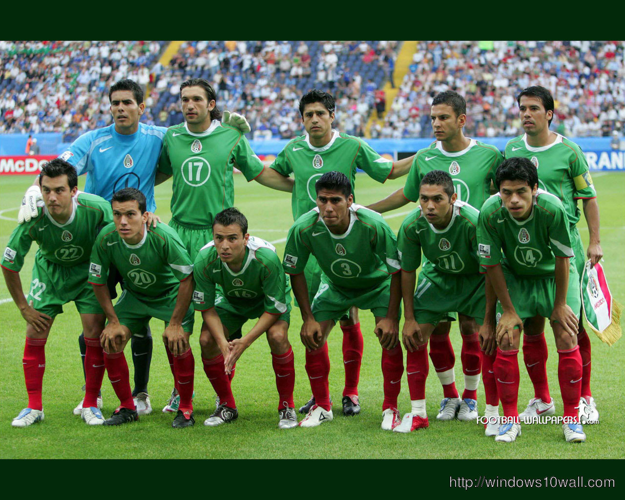 Mexico Football Team  World Cup 2014 Wallpaper
