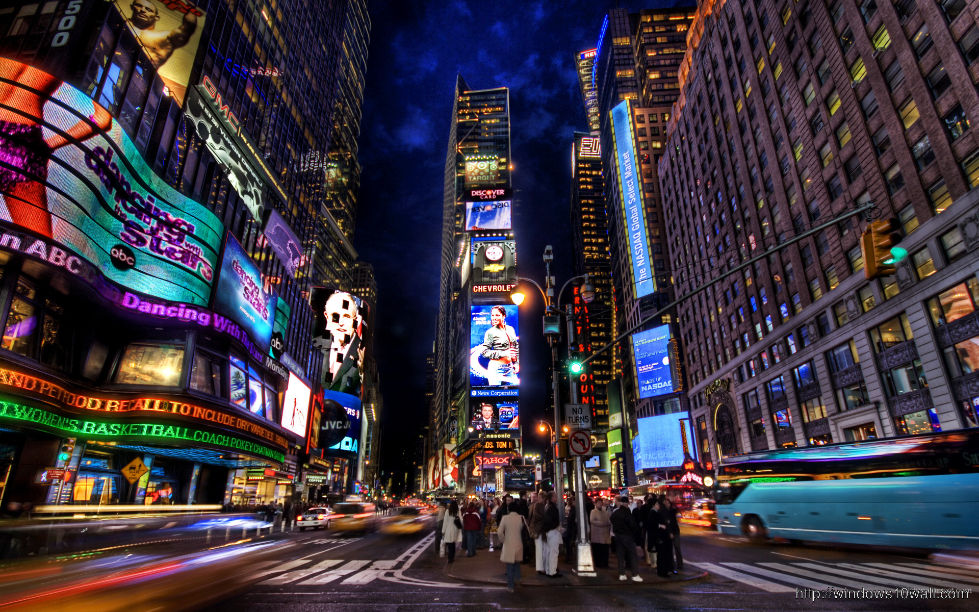 New York City Stunning Widescreen Hd 1080p Wallpaper