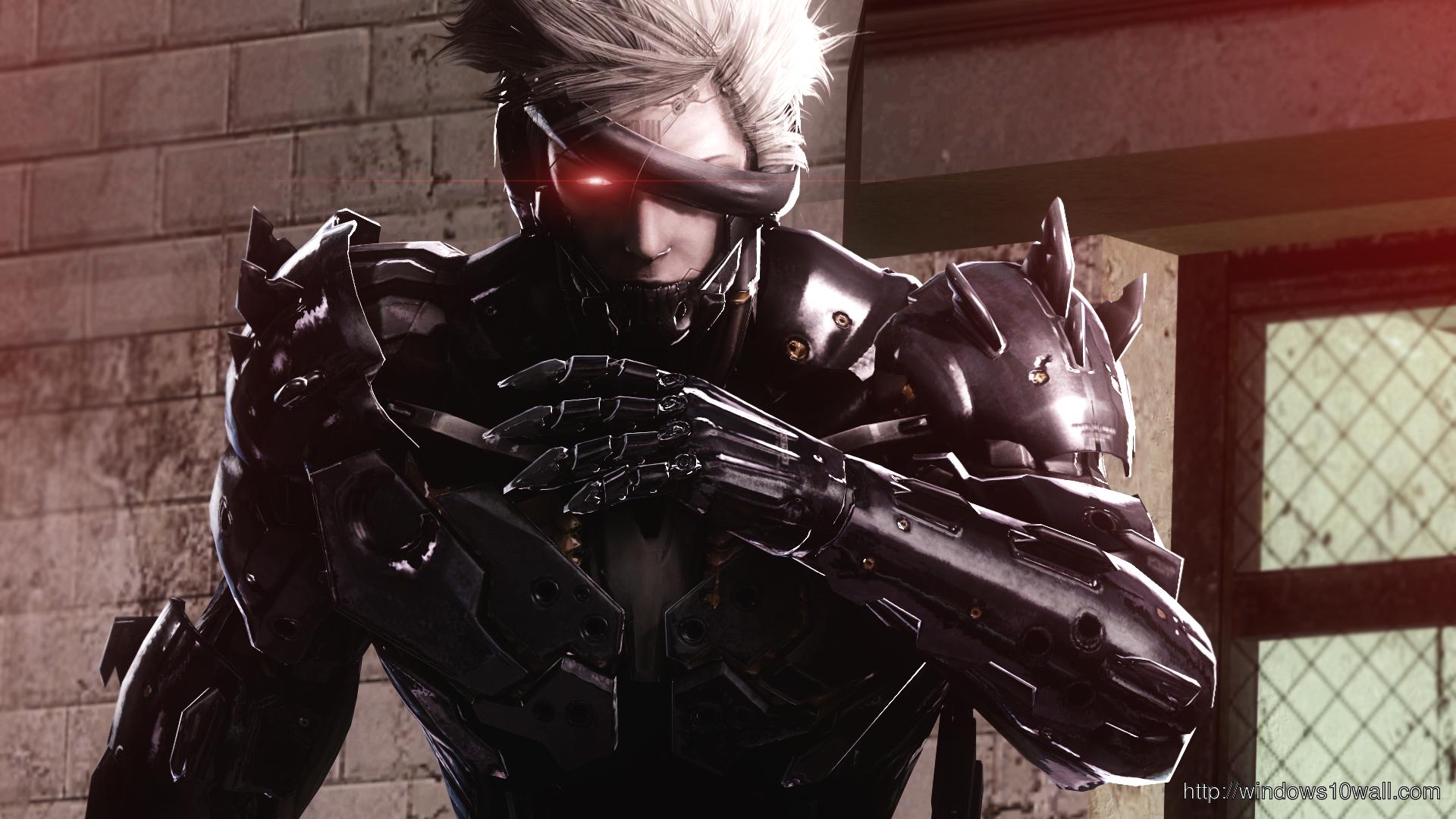 Raiden Metal Gear Solid Rising Wallpaper