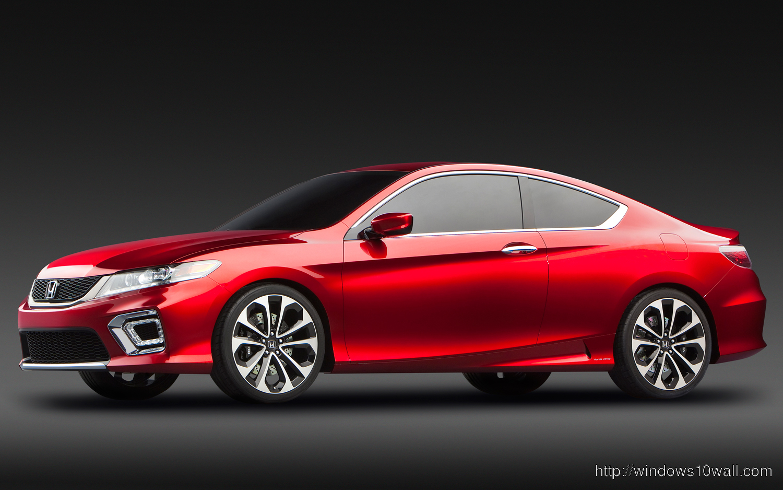 Red Honda Accord Coupe 2014 Hd Wallpaper Windows 10