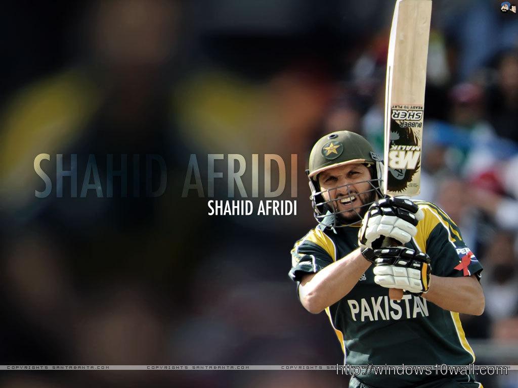 Shahid Afridi HD Wallpaper