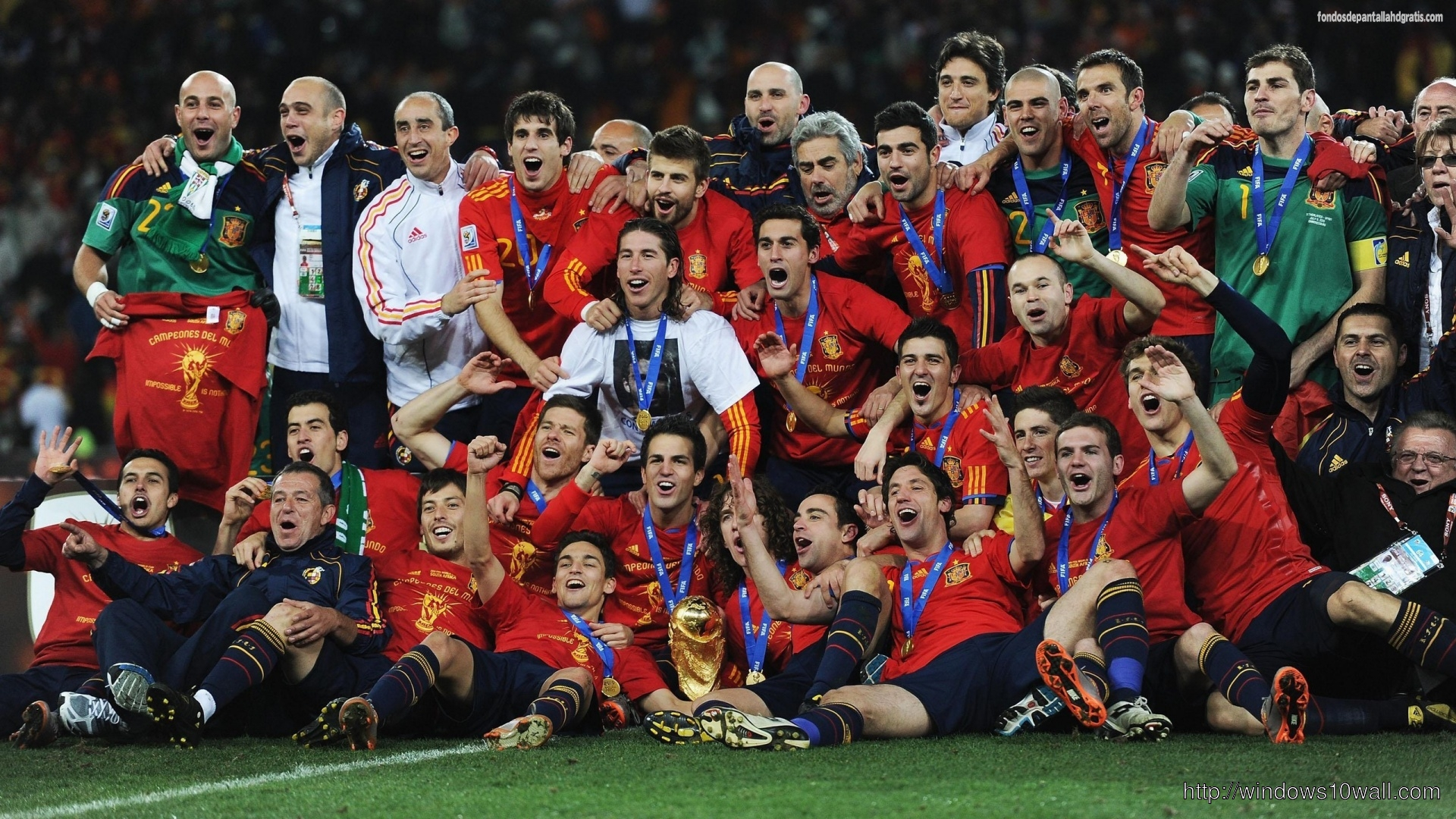 Spain Football Team Sports Hd Hd Wallpaper
