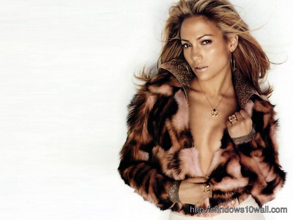 Stylish Jennifer Lopez Wall Pic