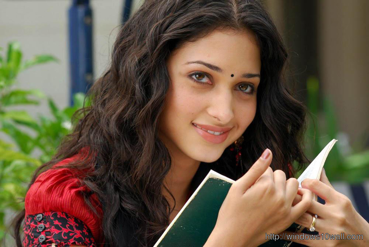 Tamanna Reading Book Background Wallpaper