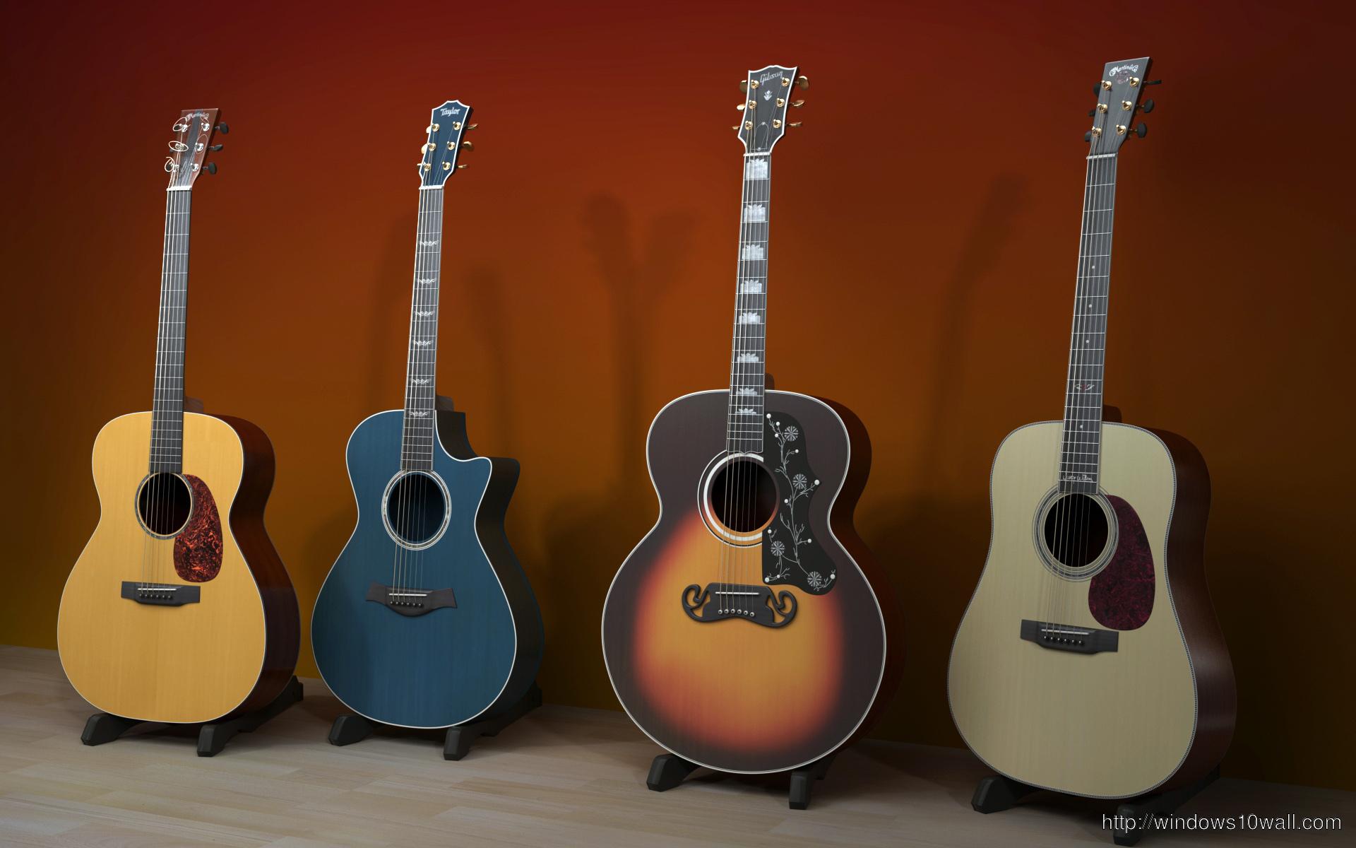Top Guitar Hd Wallpaper Windows 10 Wallpapers