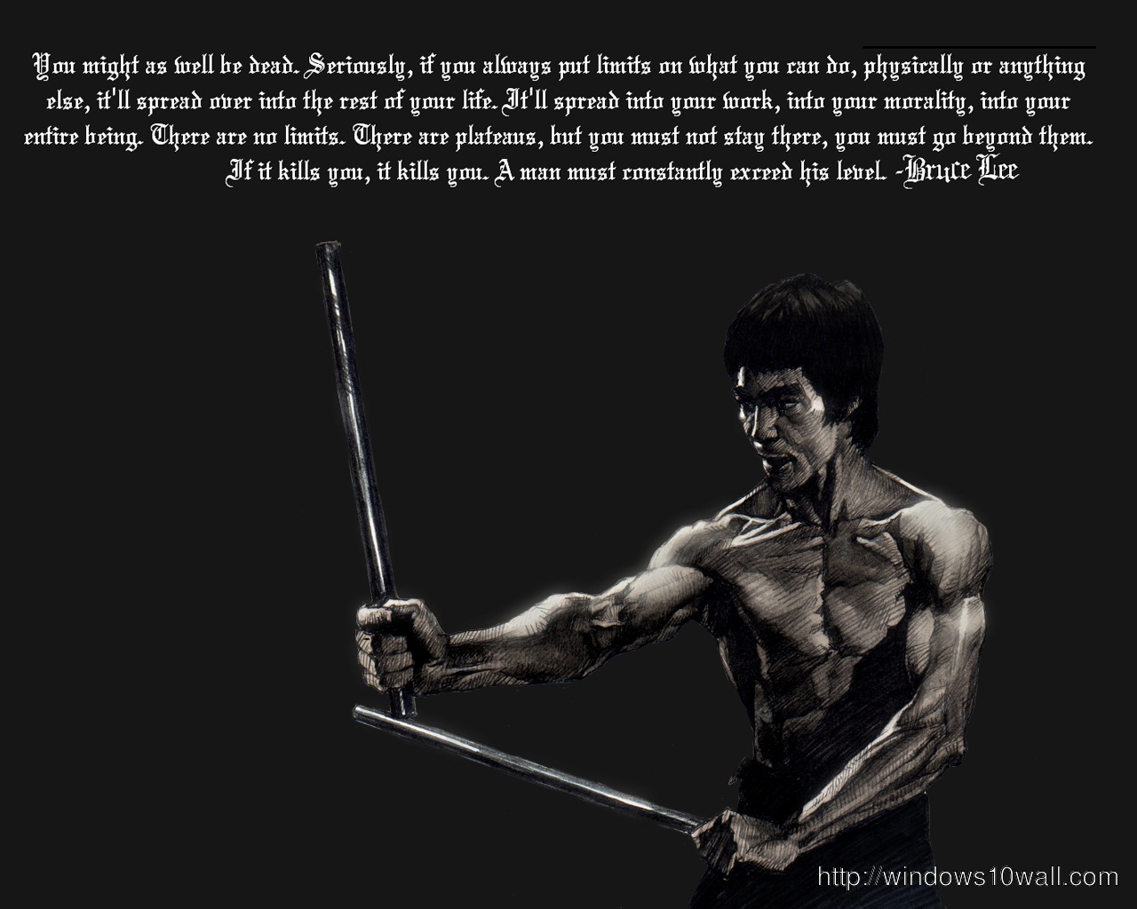 Unique Bruce Lee Quotes New Hd Wallpaper Windows 10