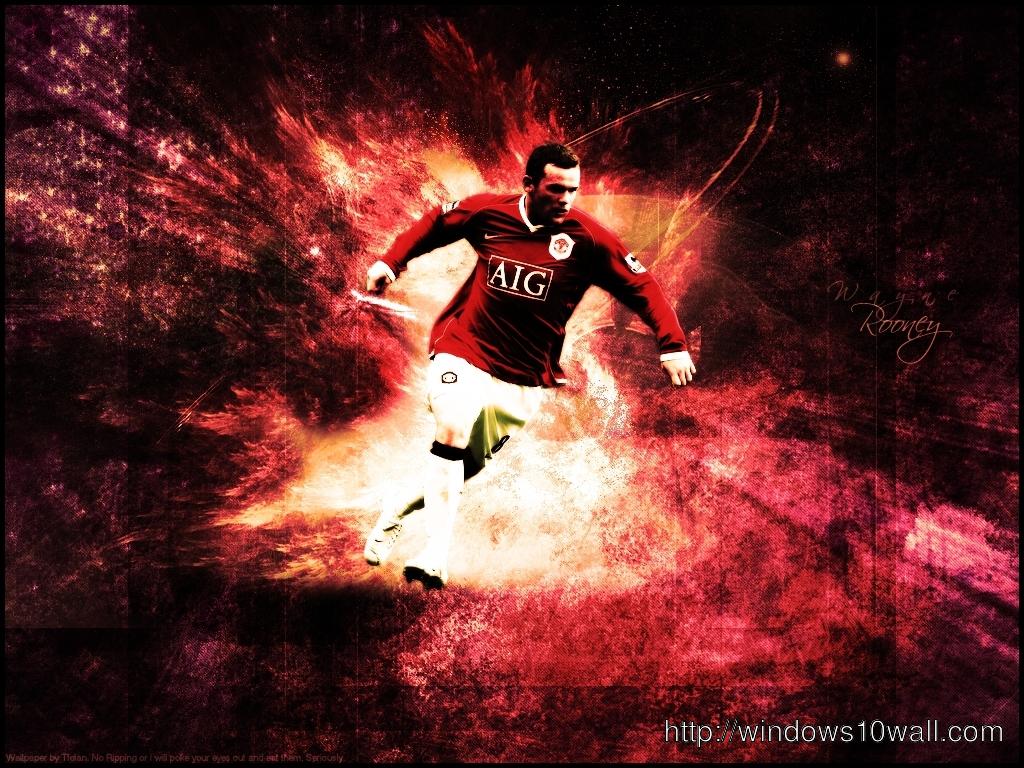 Wayne Rooney Desktop Wallpaper