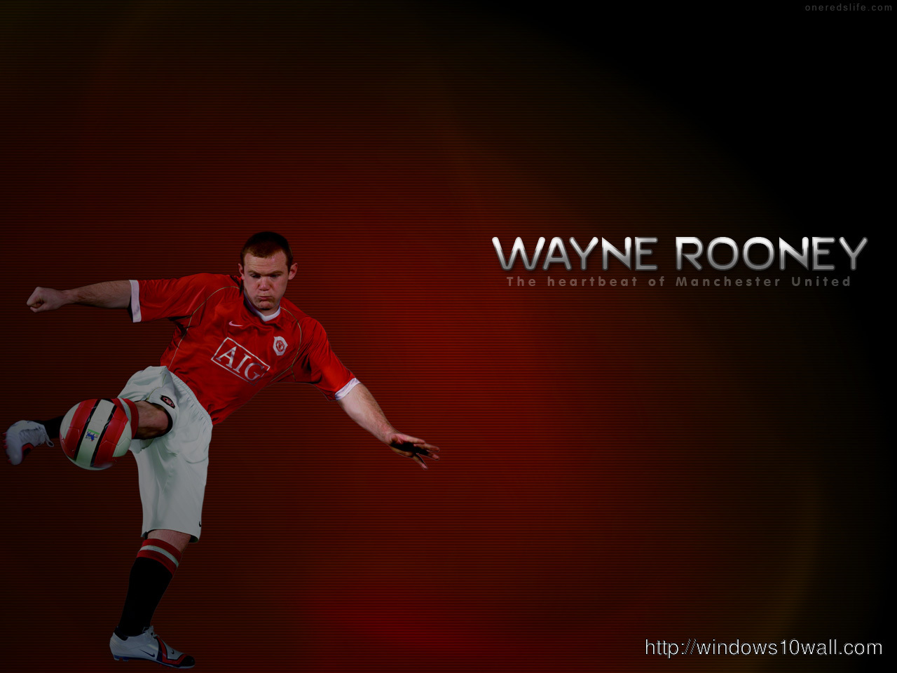 Wayne Rooney World Cup Wallpaper