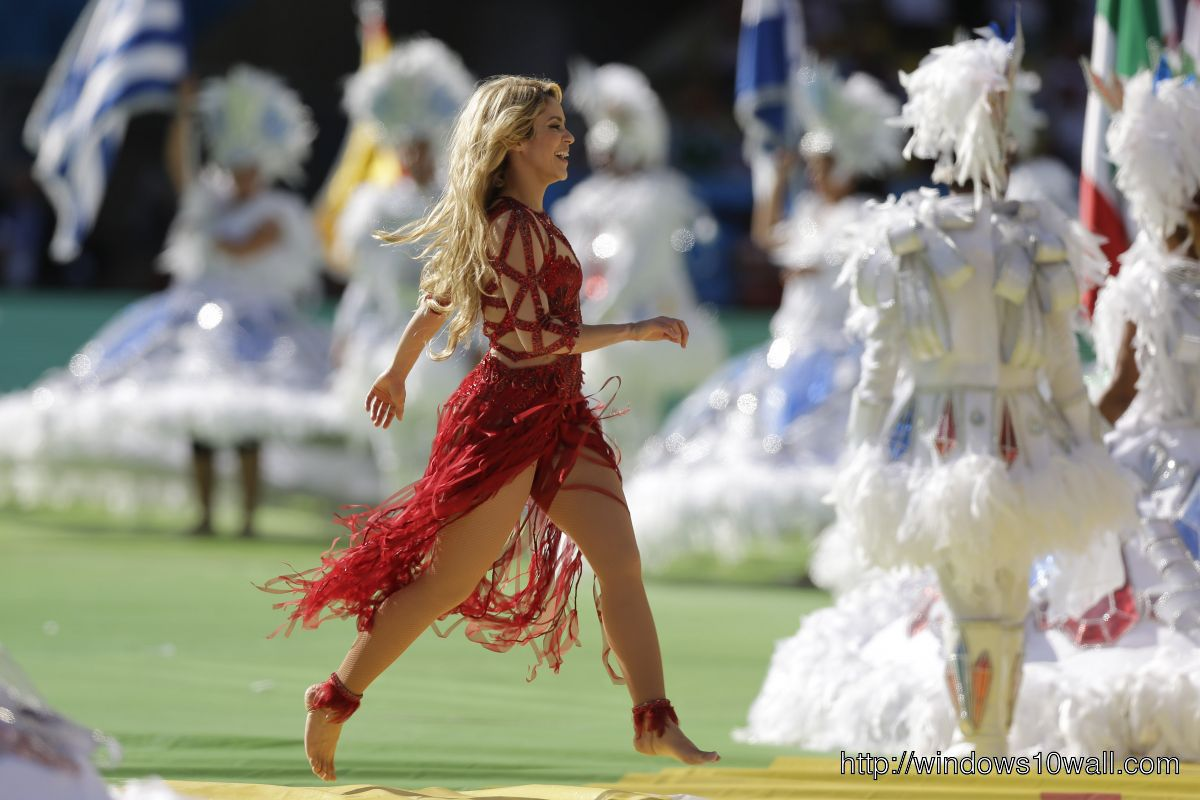 2014 Fifa World Cup Closing Ceremony by SHAKIRA