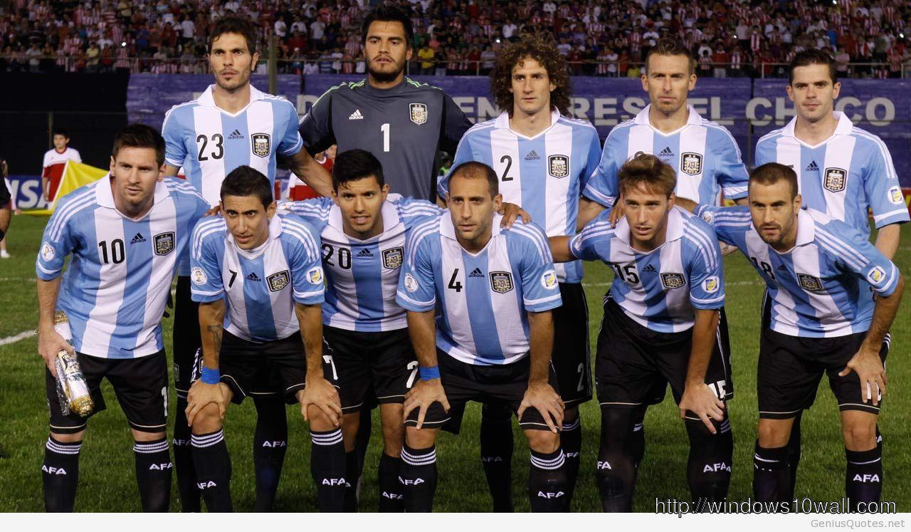 Argentina Soccer Team World Cup Wallpaper
