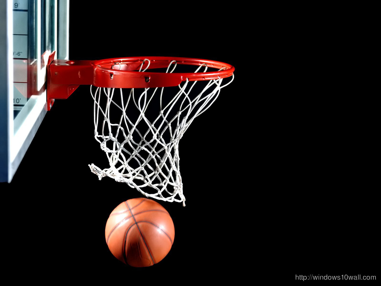 Awesome Basketball Hd Background Wallpaper Windows 10 Wallpapers