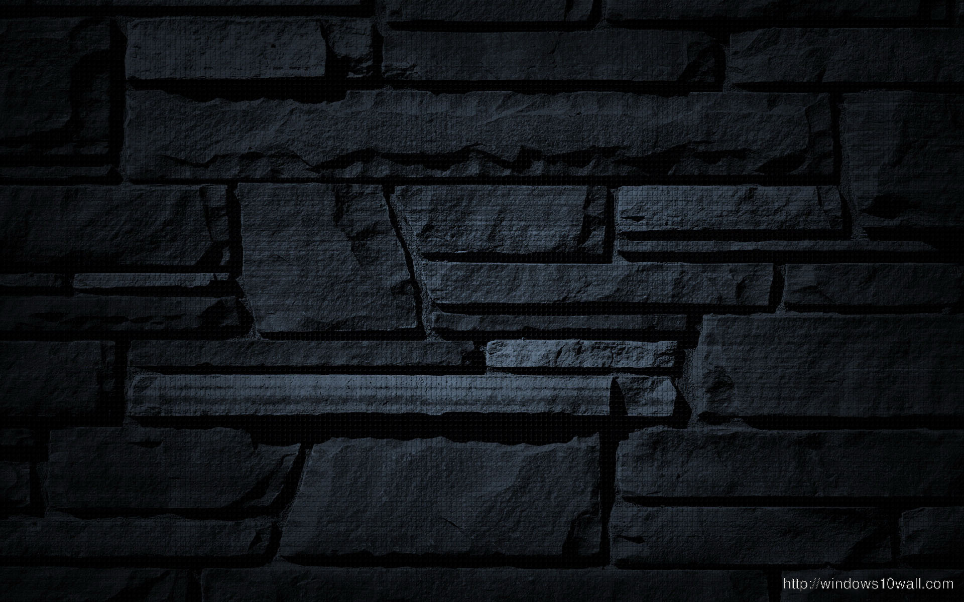 Black Stone Wall HD Wallpaper Windows 10 Wallpapers