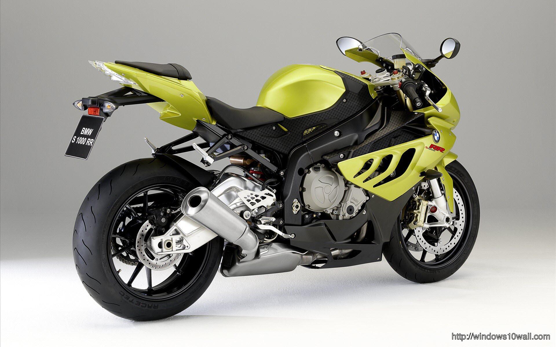 Bmw-1000-Rr-Yellow-Bike-Wallpaper