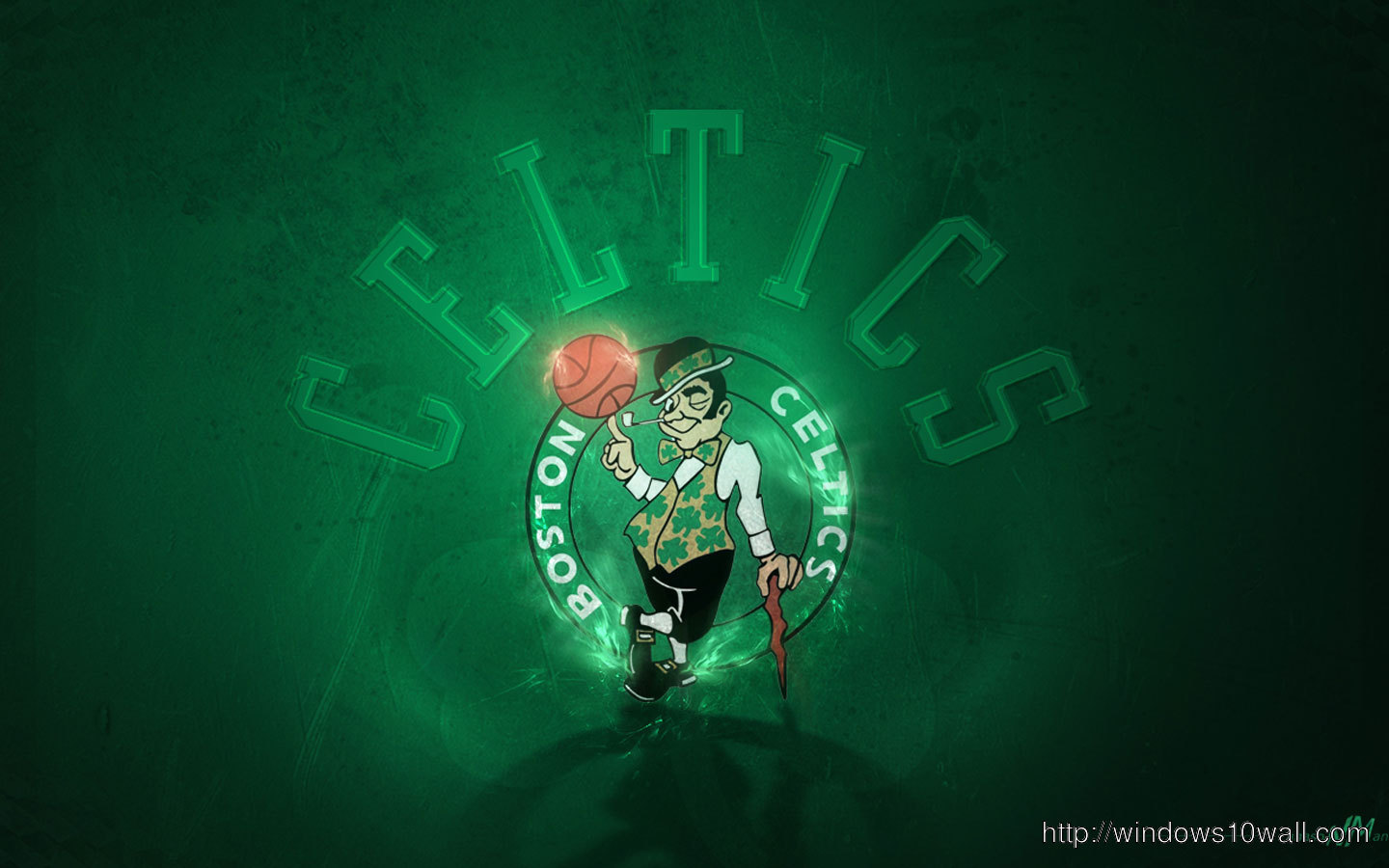 Boston Celtics Logo Hd Wallpaper Windows 10 Wallpapers