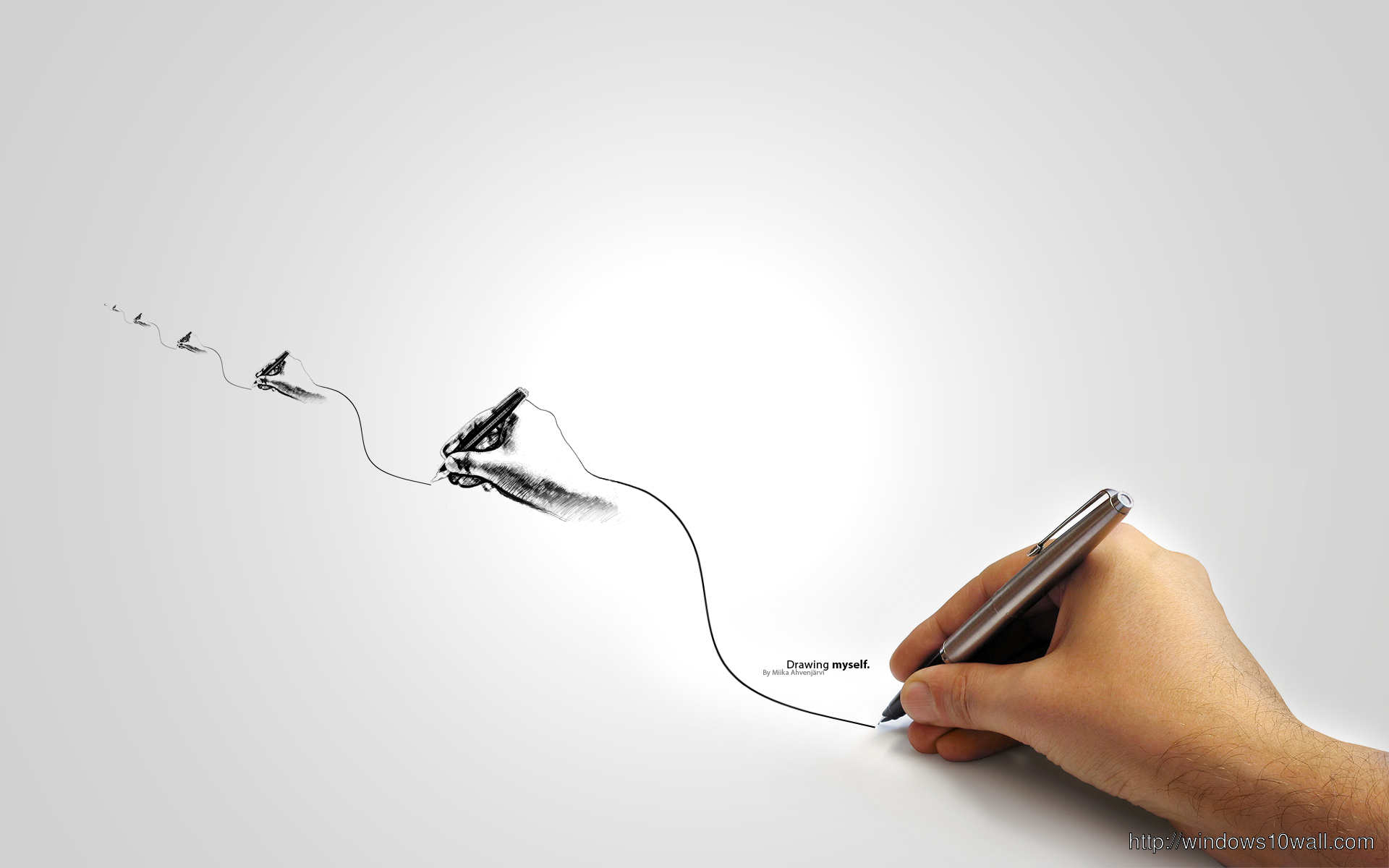 Drawing Pen HD Wallpaper