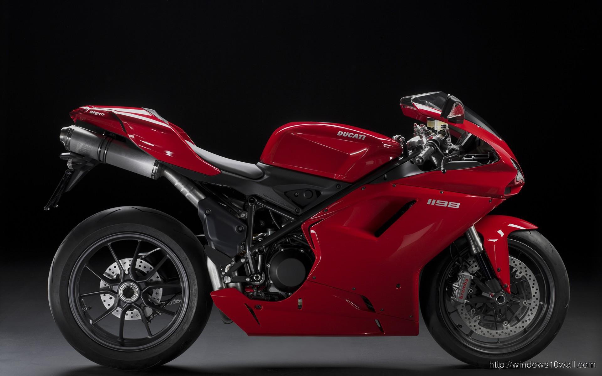 Ducati 1198 Super Bike Wallpaper