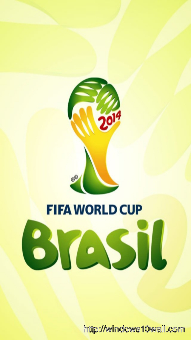 Fifa World Cup 2014 Brazil Iphone 5 Hd Wallpaper