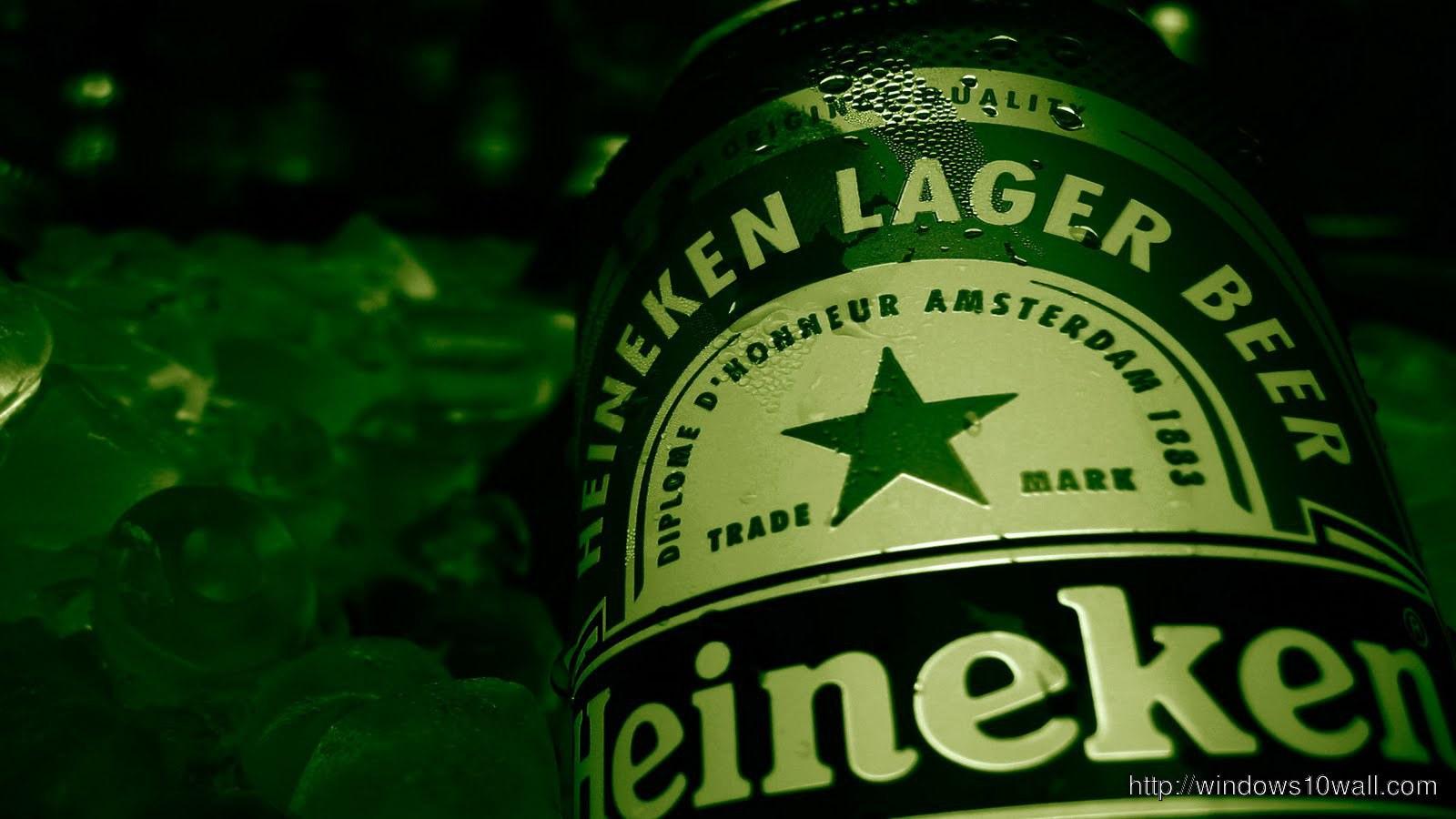 Heineken Beer Bottle Wallpaper