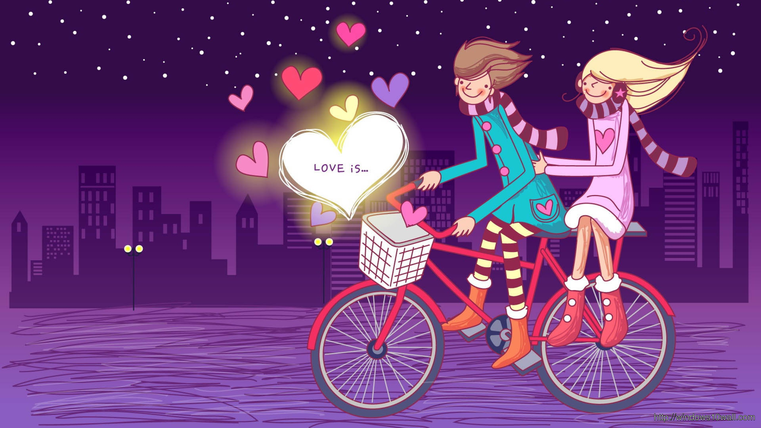 In Love Cycle Ride Wallpaper Windows 10 Wallpapers