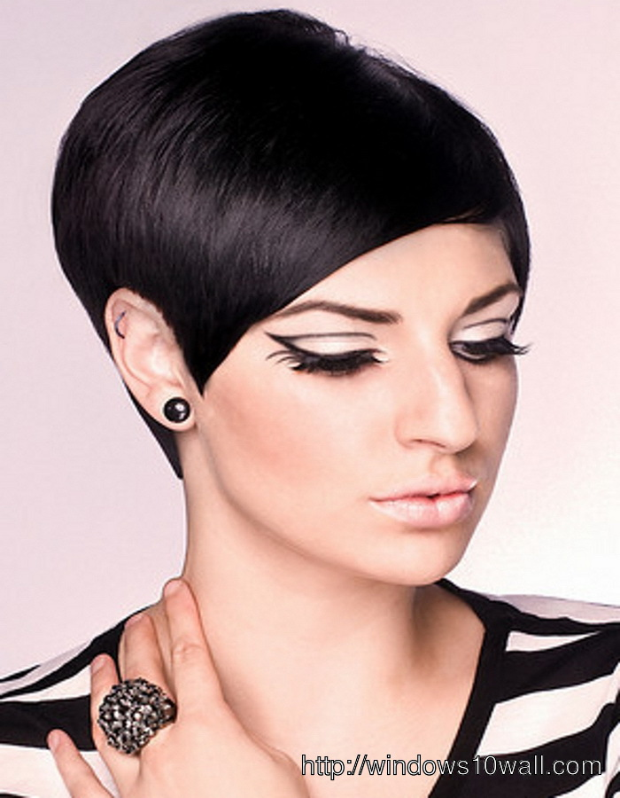 Latest Short Hairstyle Ideas For Thick Hair