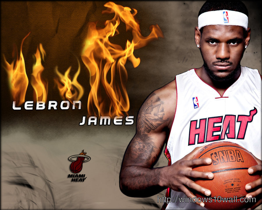 LeBron James Onfire Wallpaper