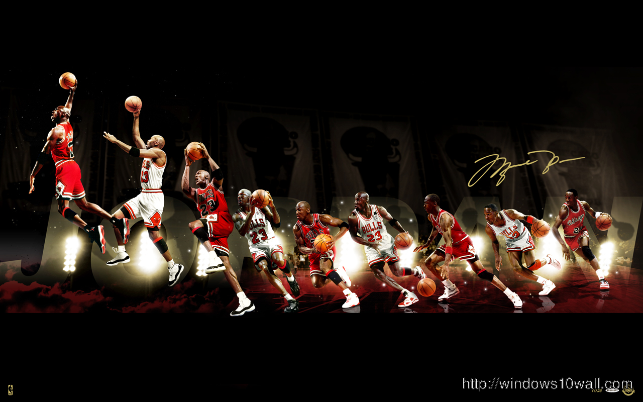 Michael Jordan Background Wallpaper Windows 10 Wallpapers