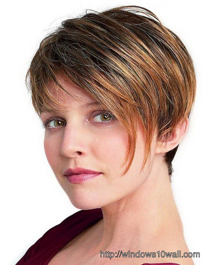 Nice-Short-hairstyle-ideas-for-Women-Thick-Hair