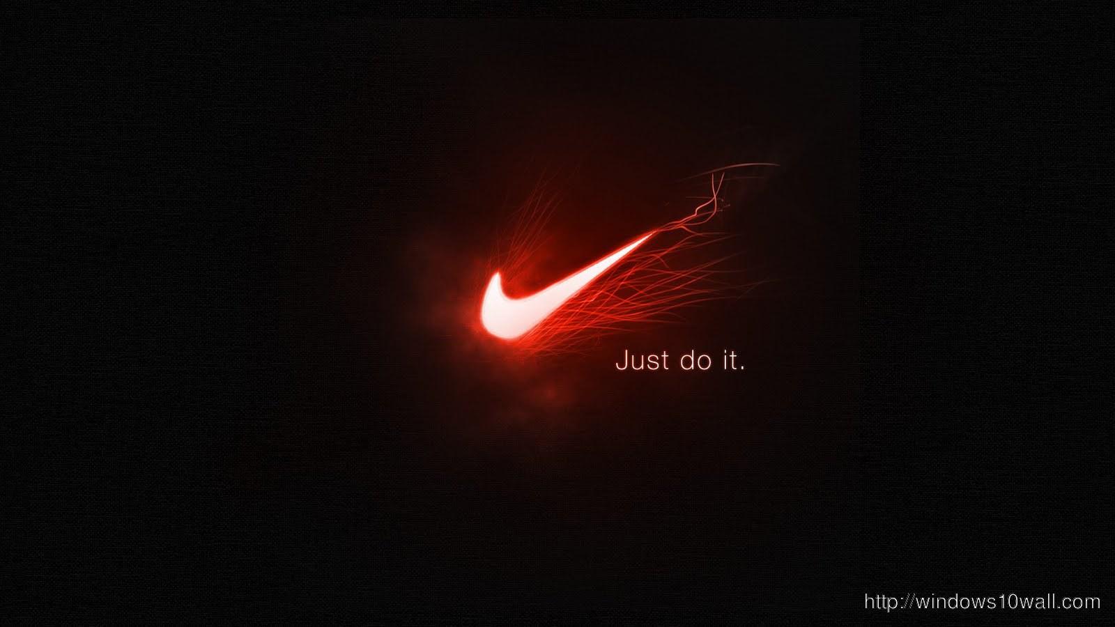 Nike Logo Neon Wallpaper Windows 10 Wallpapers