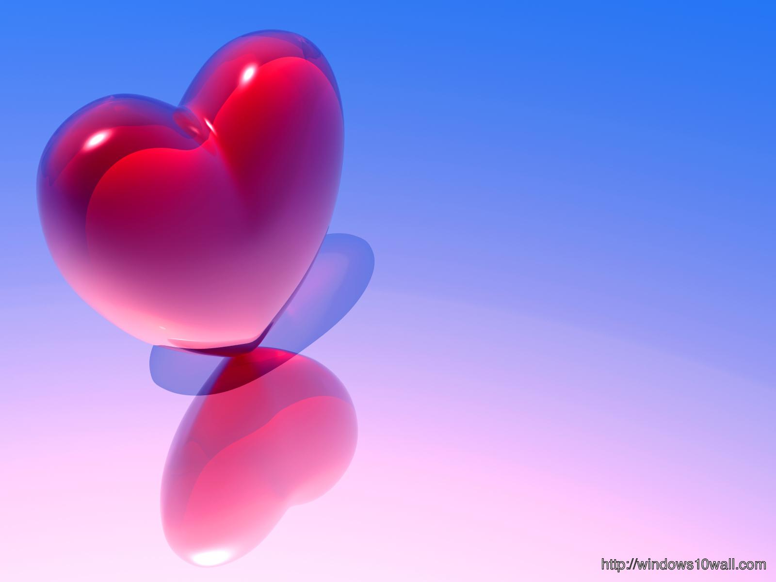 Pink-n-Blue-Heart-Love