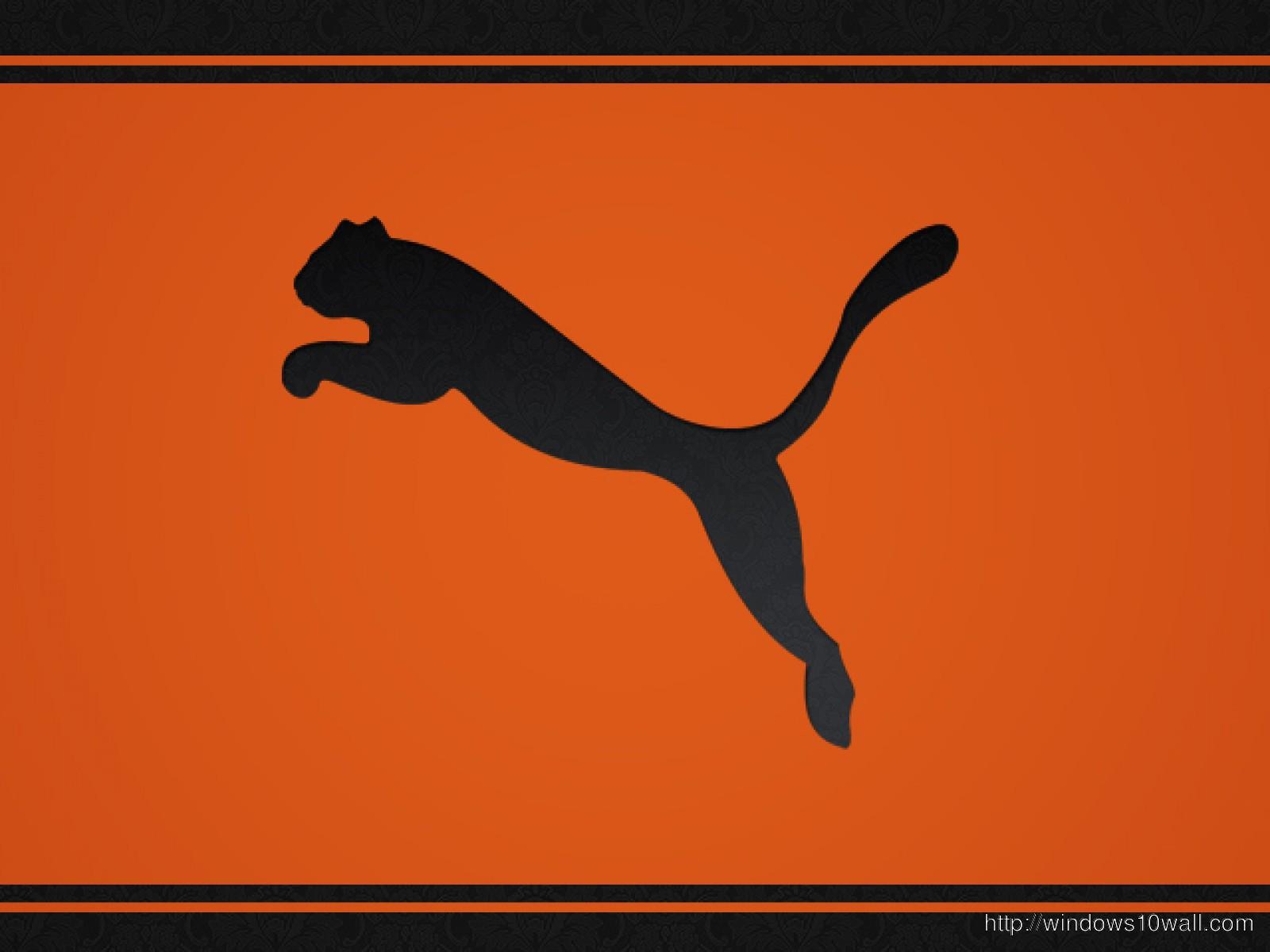 Puma Logo Widescreen Wallpaper Windows 10 Wallpapers
