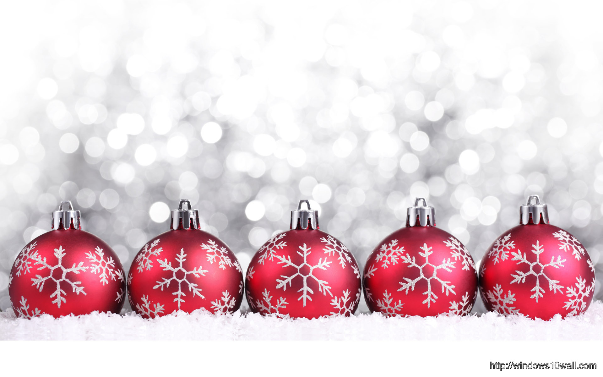 Red Christmas Decorations Wallpaper Windows 10 Wallpapers
