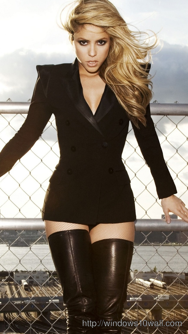 Shakira-Iphone-5-hd-Wallpaper