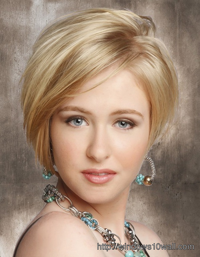 Short-hairstyle-ideas-for-women-with-thick-hair-and-oval-face