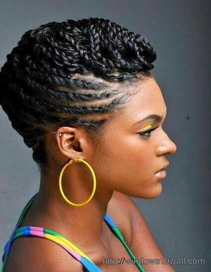 Side Braided Hairstyle Ideas For Black Women