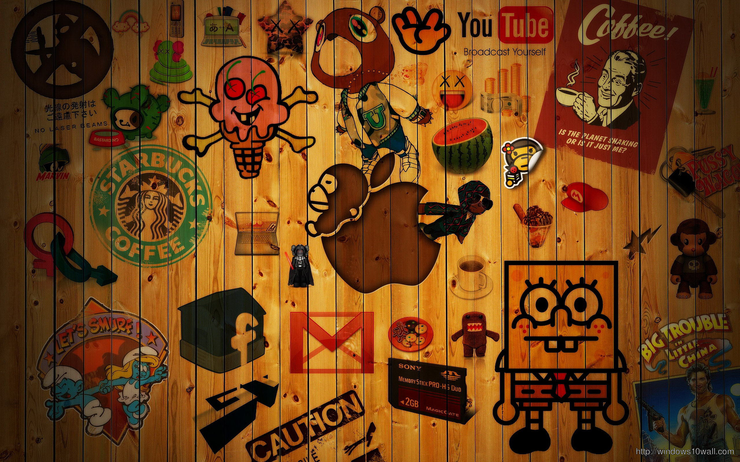 Social Network Background Wallpaper