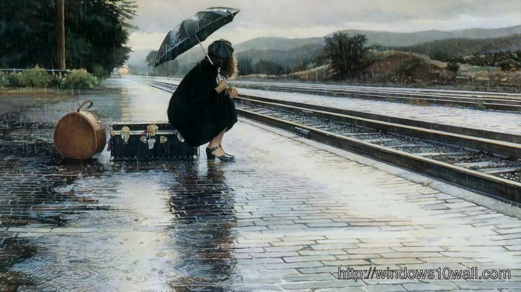 Stay-Alone-In-The-Rain-Desktop-Wallpaper