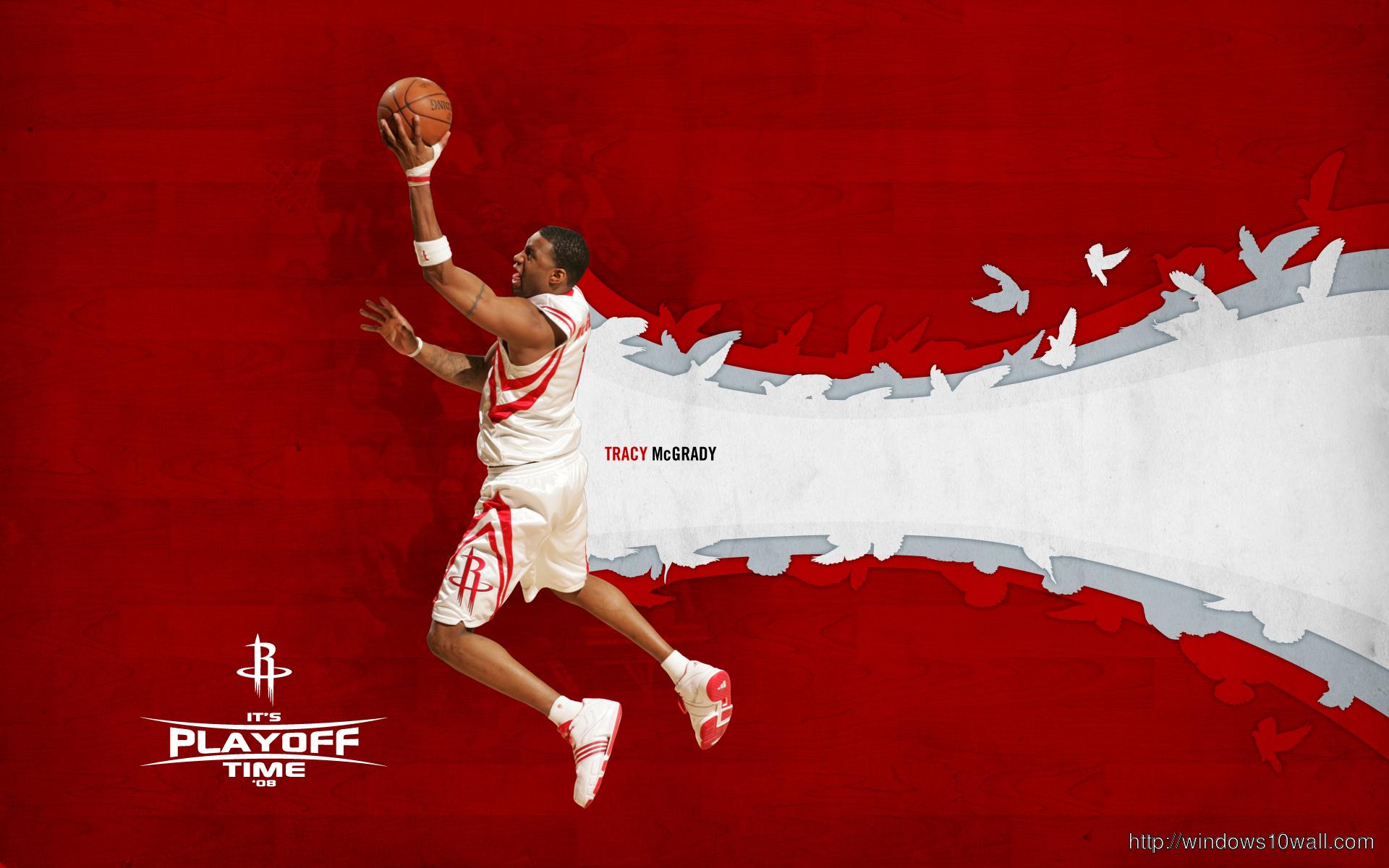 Tracy Mcgrady Houston Rockets Wallpaper