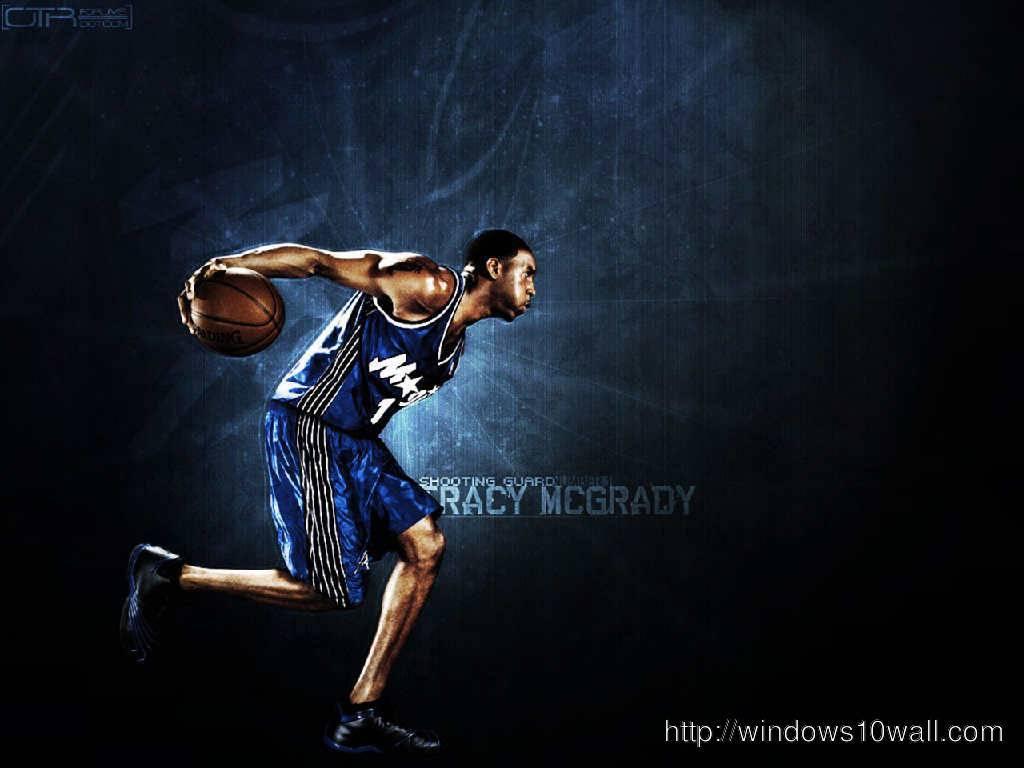 Tracy Mcgrady Orlando Magic Wallpaper