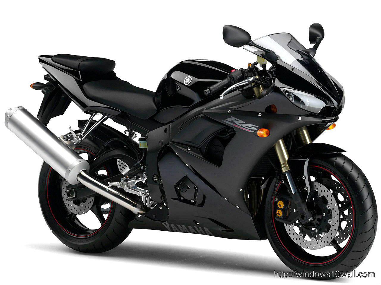 Yamaha R6 Sports Bike Wallpaper