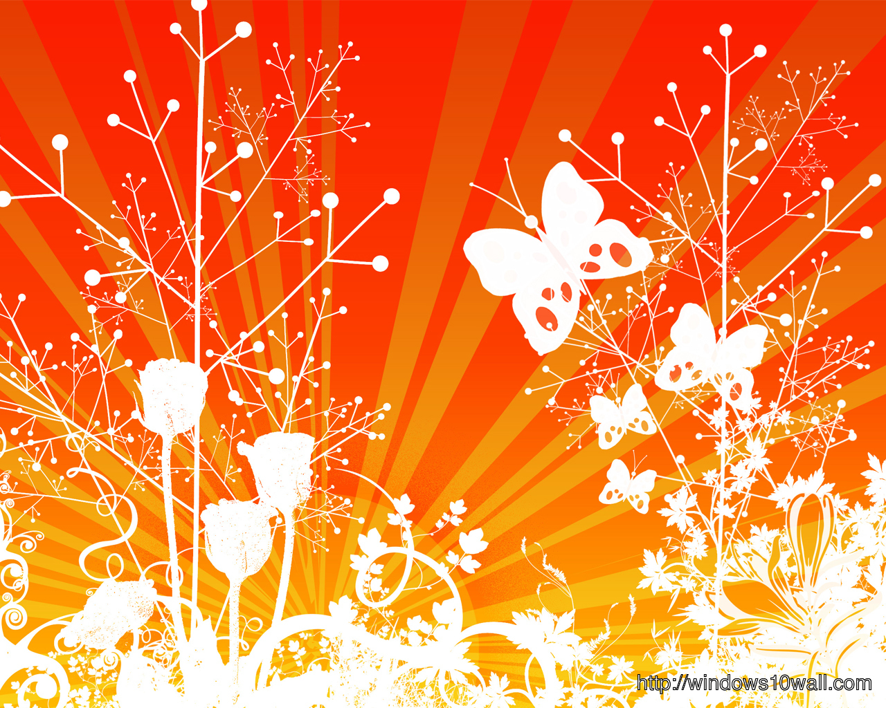 abstract-Background-Wallpaper-vector-orange