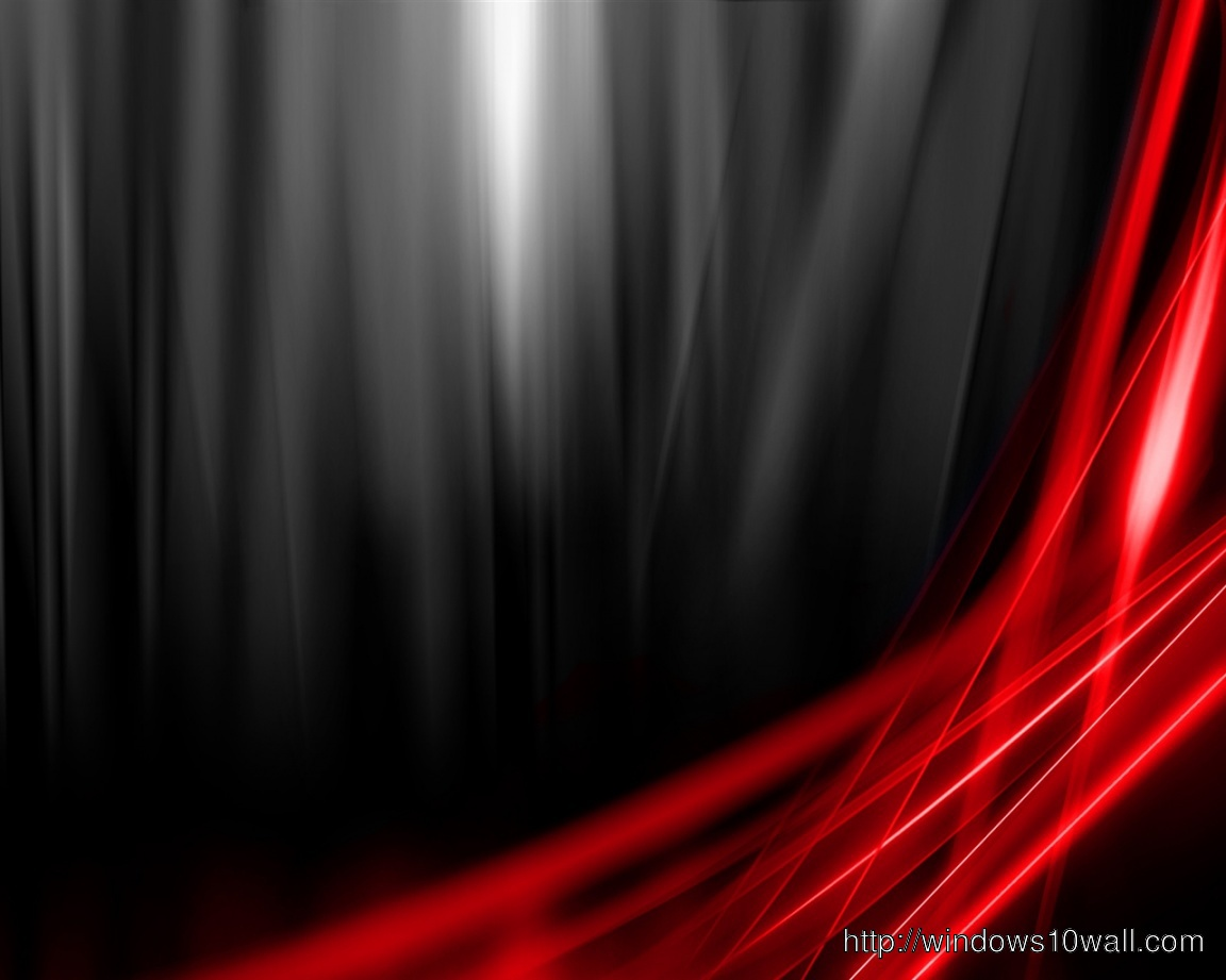 Abstract Black And Red Windows 10 Wallpapers